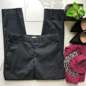 J. Crew Black Skinny Wool Dress Pants